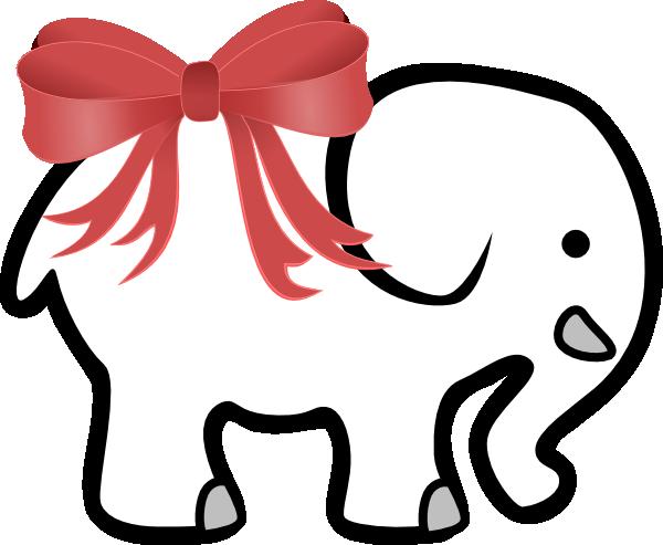 600x493 White Elephant Clip Art