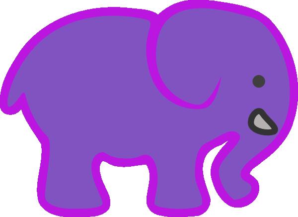 600x436 Baby Elephant Clip Art