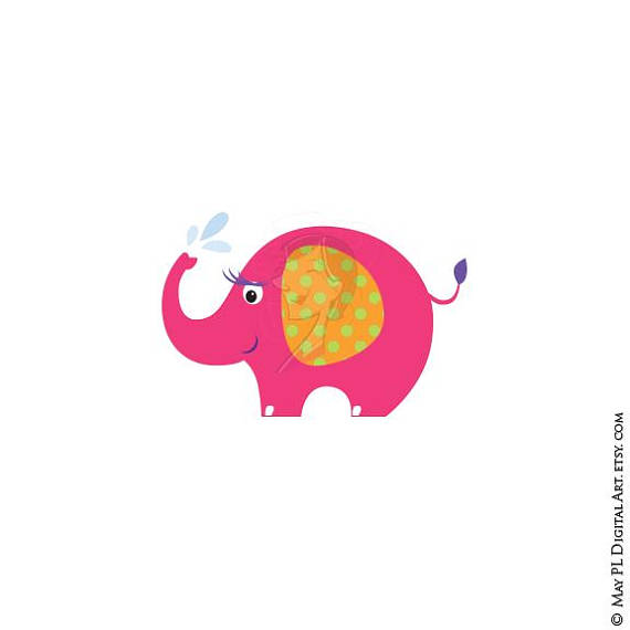 570x570 Elephant Svg File Cute Animal Clipart Great For Baby Shower
