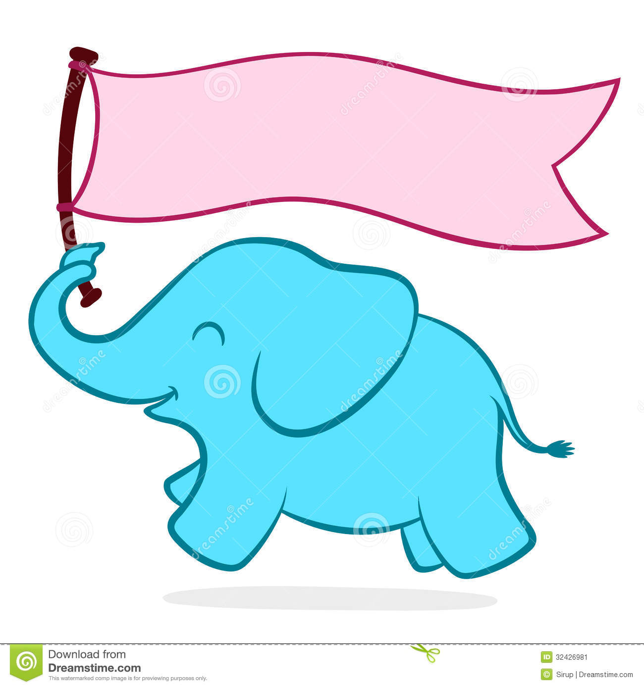 1300x1390 Elephant Clipart Turquoise