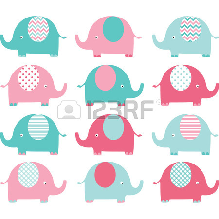 450x450 9,049 Baby Elephant Stock Vector Illustration And Royalty Free