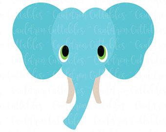 340x270 Baby Elephant Svg Etsy