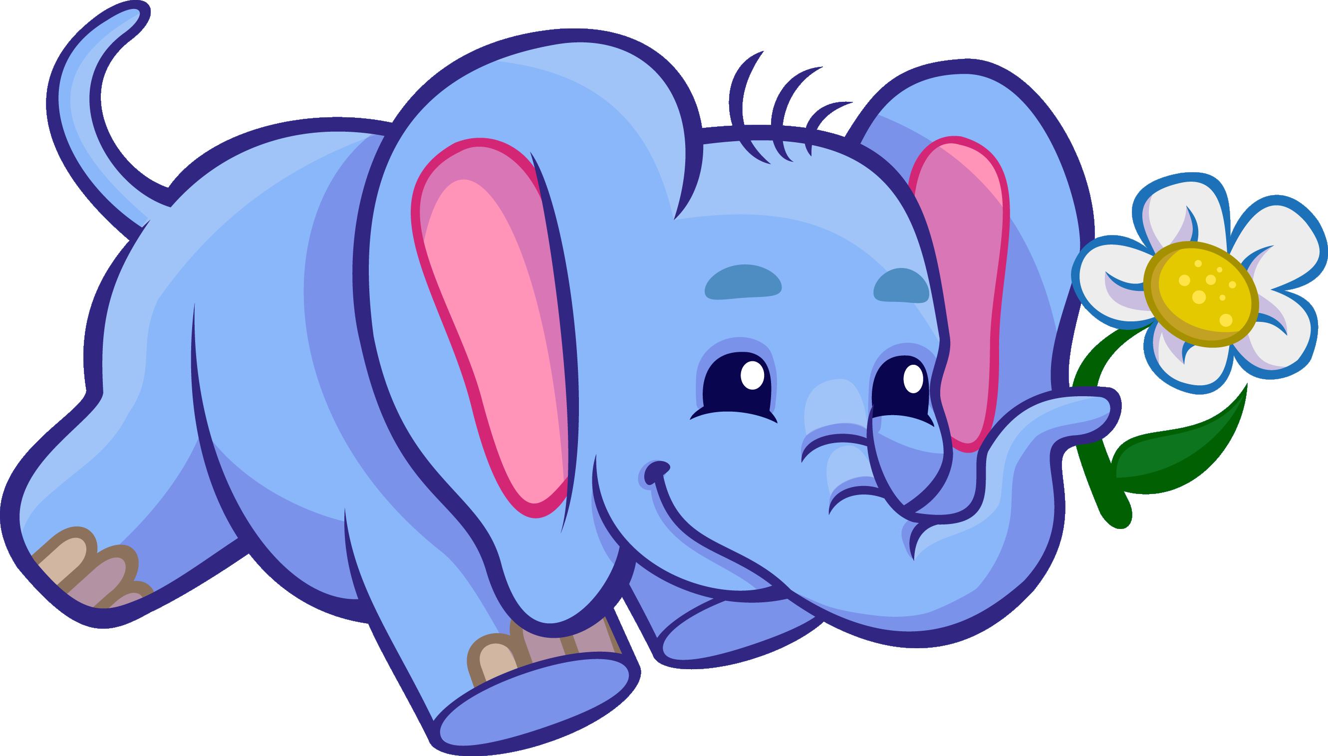 2661x1515 Elephant Clip Art Images
