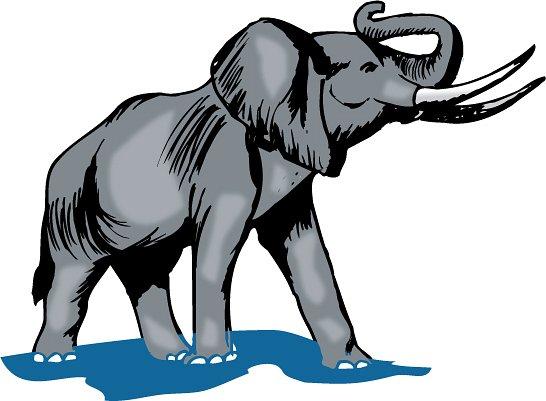 546x401 Free Baby Elephant Clip Art Google Search Kids Art