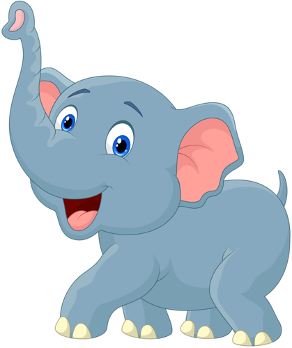 419x500 Baby Elephant Clip Art Inderecami Drawing