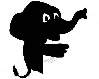340x270 Elephant Silhouette Etsy