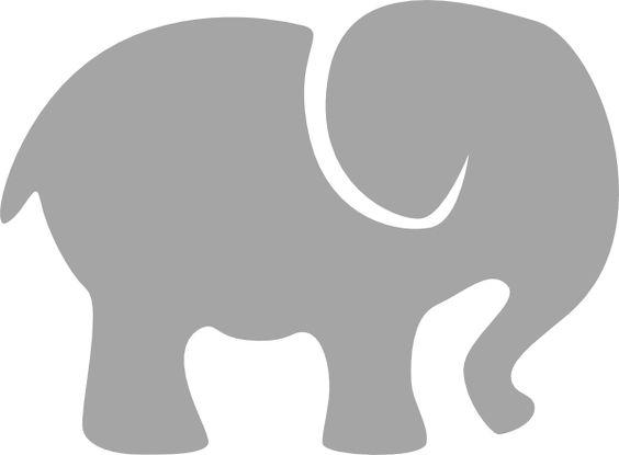 564x415 Elephant Silhouette Clip Art Gray Elephant Clip Art Vector