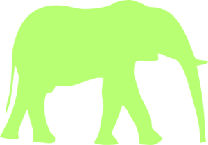 300x210 Free Elephant Clip Art To Never Forget