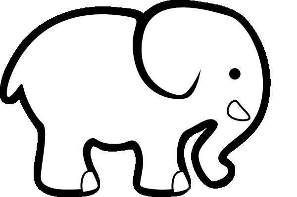 600x399 White Elephant Clip Art Clip Art