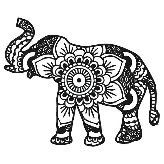 550x550 Elephant Coloring Pages 8 Baby