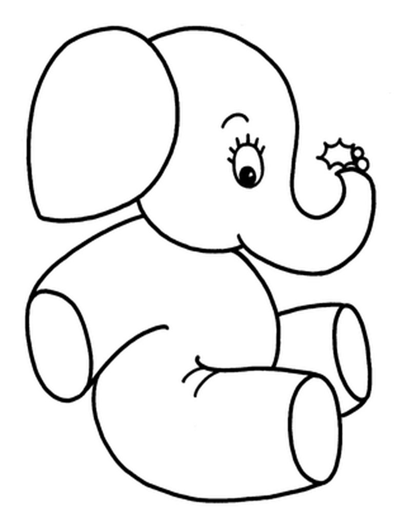 768x1024 Perfect Baby Elephant Coloring Pages 83 In Gallery Coloring Ideas