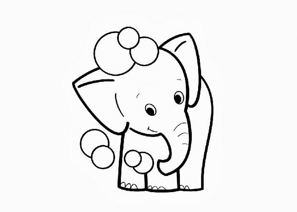 1024x731 The Most Amazing In Addition To Interesting Baby Elephant Coloring
