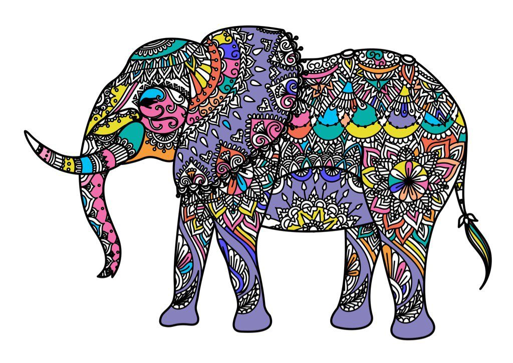 1024x726 Pictorial Elephant Drawing Desk