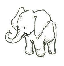 221x228 Best Drawings Elephants Ideas Paintings
