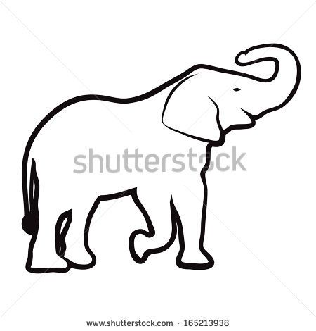 450x470 Trunk Clipart Elephant Head