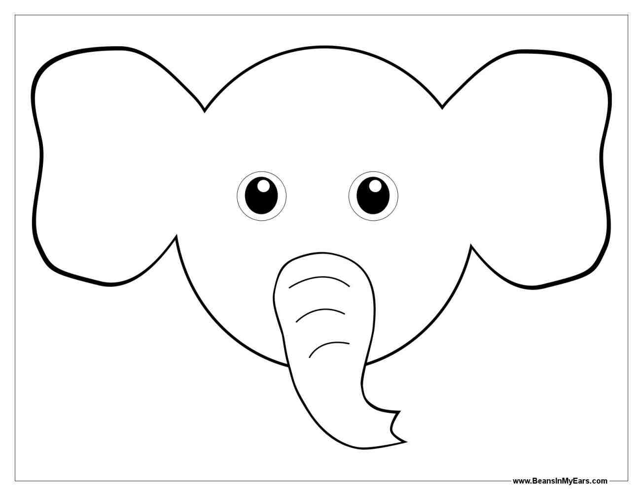 Elephant Drawings | Free download on ClipArtMag