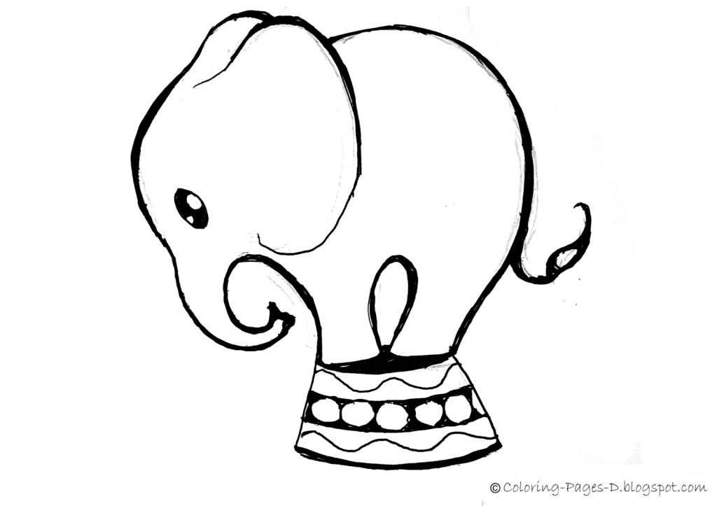 1024x723 Baby Elephant Drawing Cute Ba Elephant Drawings Related Keywords