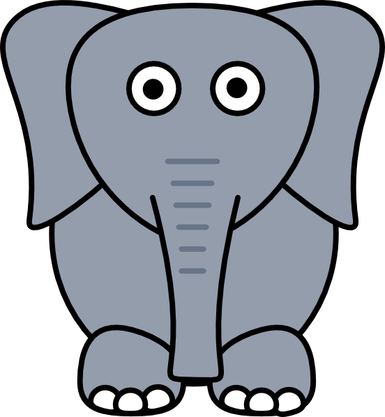 Elephant Ears Clipart | Free download on ClipArtMag