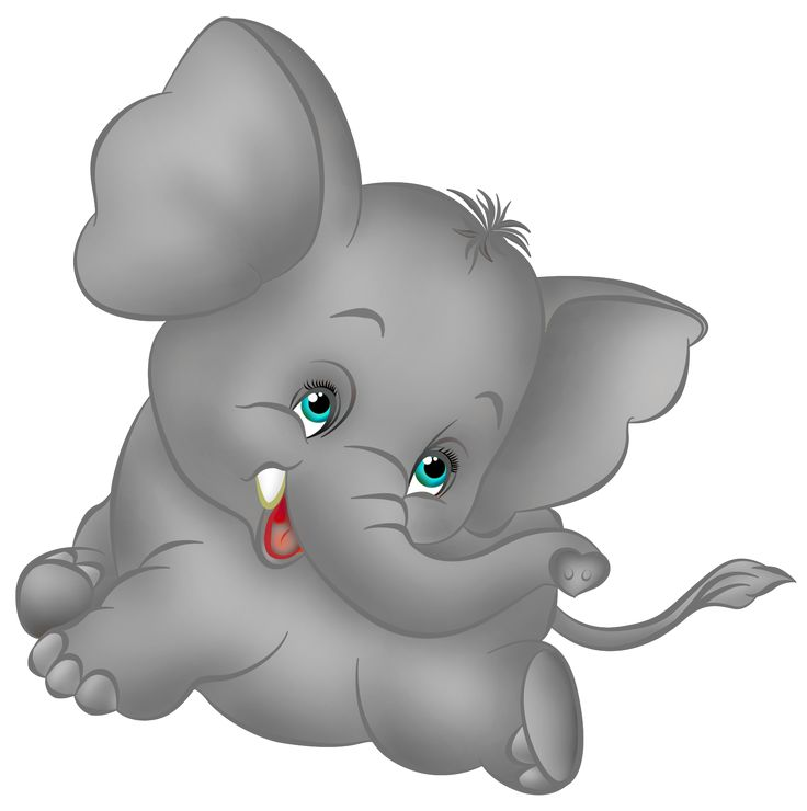 736x740 Adorable Clipart Baby Elephant