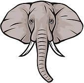 170x167 Trunk Clipart Elephant Head