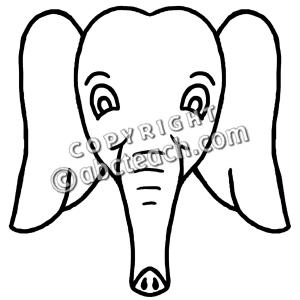 300x300 Cartoon Elephant Face Clipart Panda