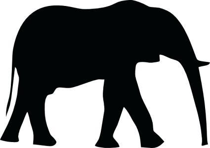 425x299 Outline Of Elephant Download Interesting Outline Elephant Sitting