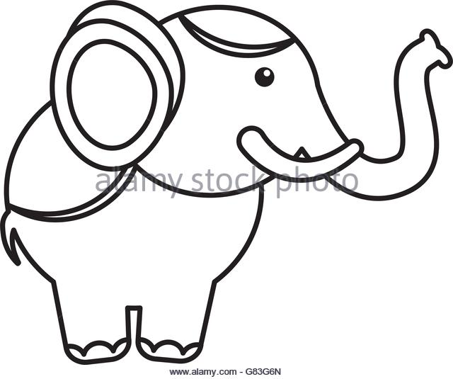 640x535 Circus Elephant Black And White Stock Photos Amp Images