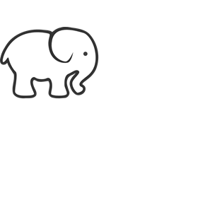 300x300 Elephant Clipart, Cliparts Of Elephant Free Download (Wmf, Eps