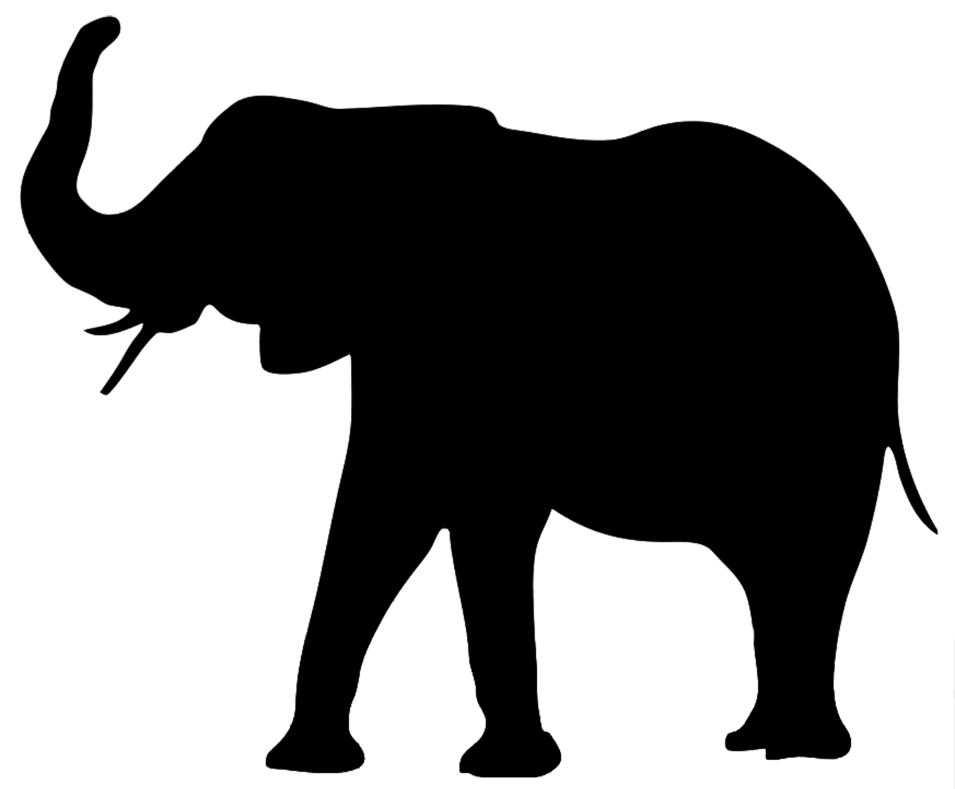 1358x1122 Shadows Clipart Elephant