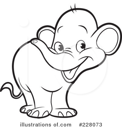 400x420 And White Elephant Mom Baby Clipart