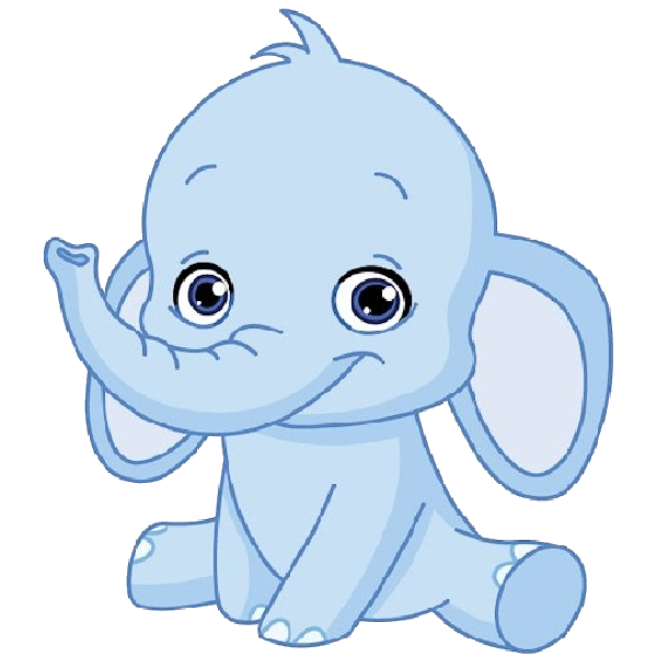 600x600 Cute Elephant Funny Baby Elephant Elephant Images Clip Art Image