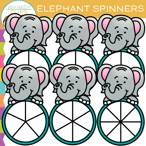600x600 Elephant Clip Art , Images Amp Illustrations Whimsy Clips