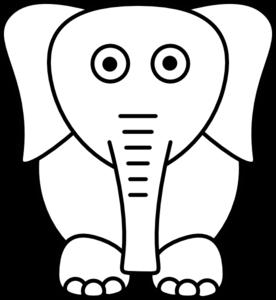 276x300 White Elephant Clip Art