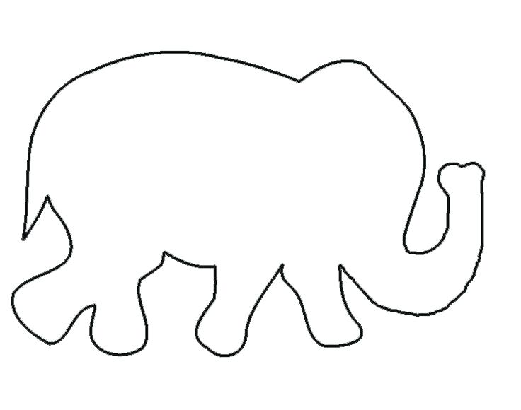 736x580 Simple Elephant Outline Cute Little Elephant Tattoo Simple