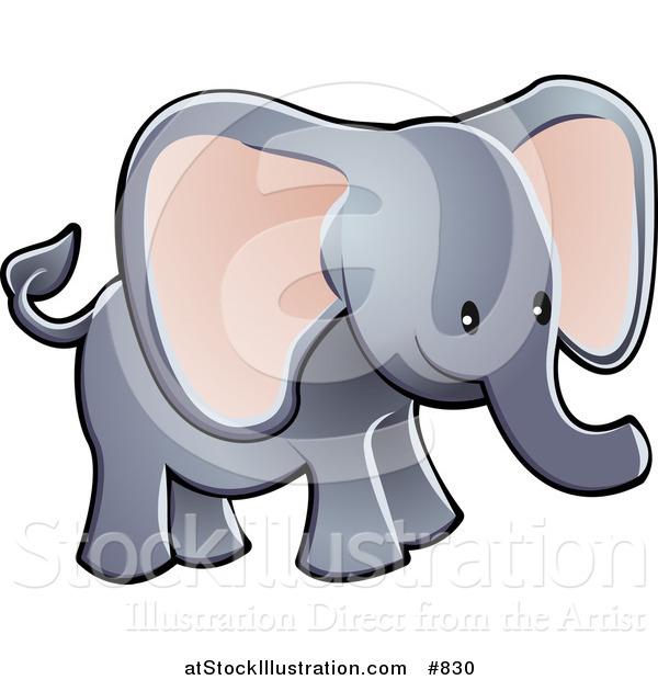 600x620 Trunk Clipart Big Elephant