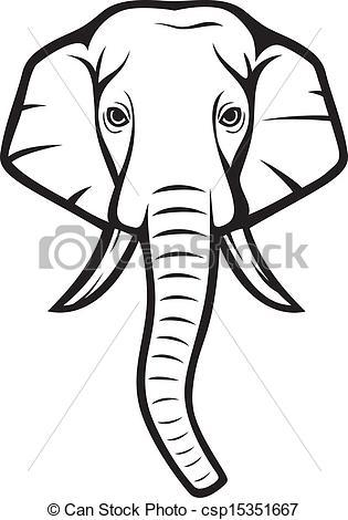 315x470 Trunk Clipart Elephant Head