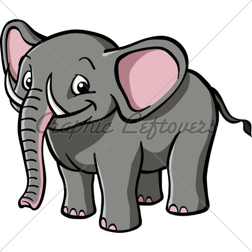 500x500 Cartoon Elephant Trunk Images Adultcartoon.co