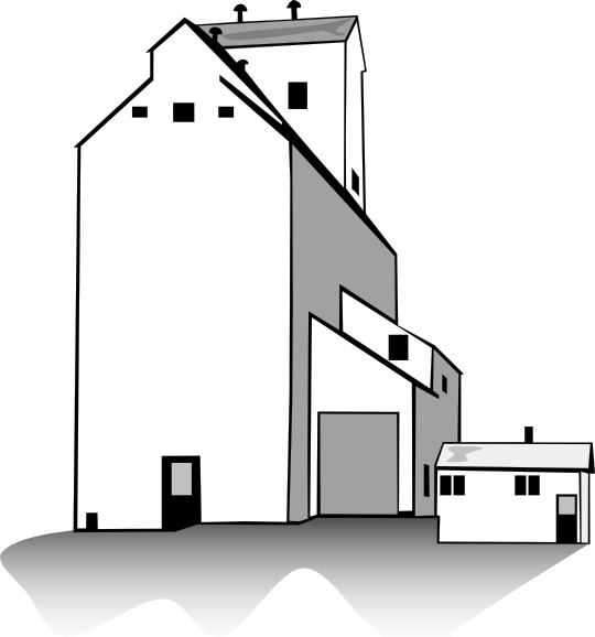 540x578 Grain Elevator Clip Art Free Vector In Open Office Drawing Svg