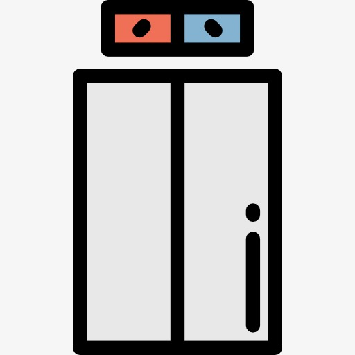 512x512 Elevator, Cartoon, Business Png Image For Free Download
