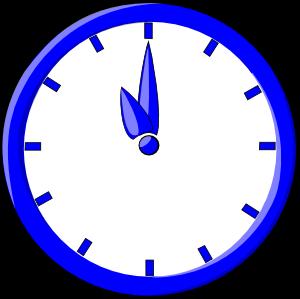 300x299 Clock Clip Art