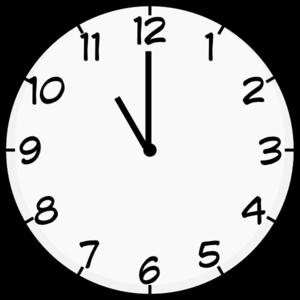 300x300 Eleven O Clock Clip Art