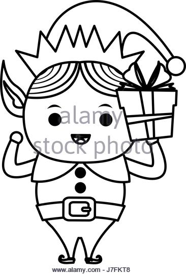 366x540 Elf Hat Black And White Stock Photos Amp Images