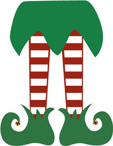 232x300 Elf Legs Clipart Black And White