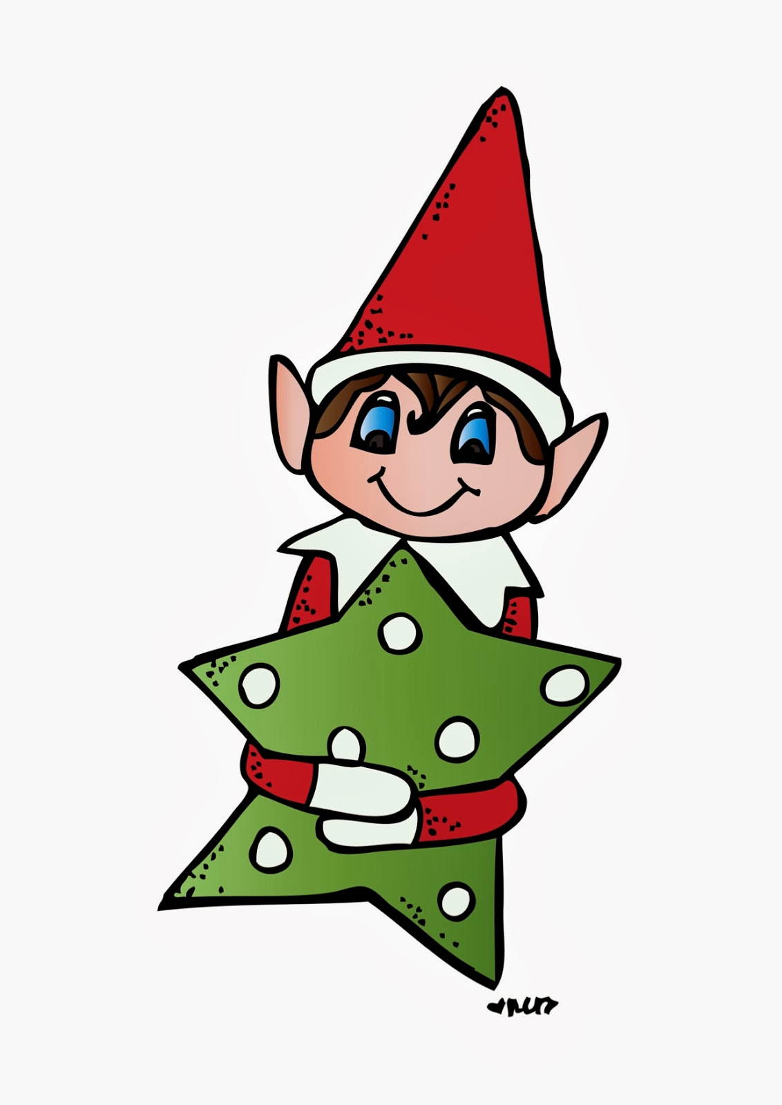 1132x1600 Elf On The Shelf Clipart Black And White