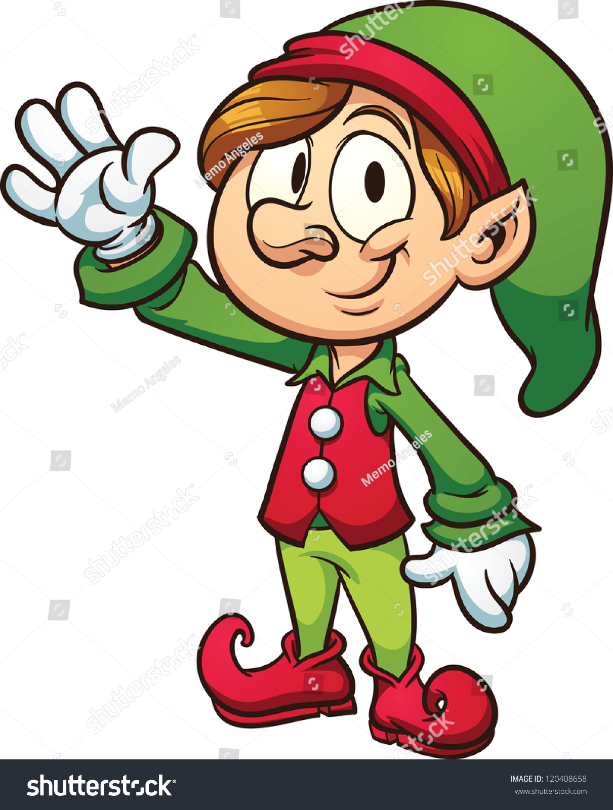 1211x1600 Elf Clipart Person