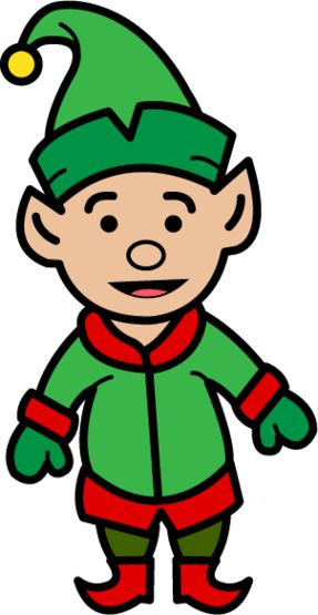 287x555 The Best Elf Clipart Ideas Christmas Clipart