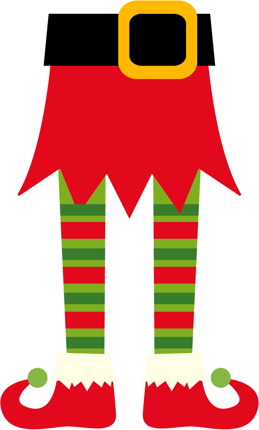 900x1491 Christmas Elf Clip Art Clip Art