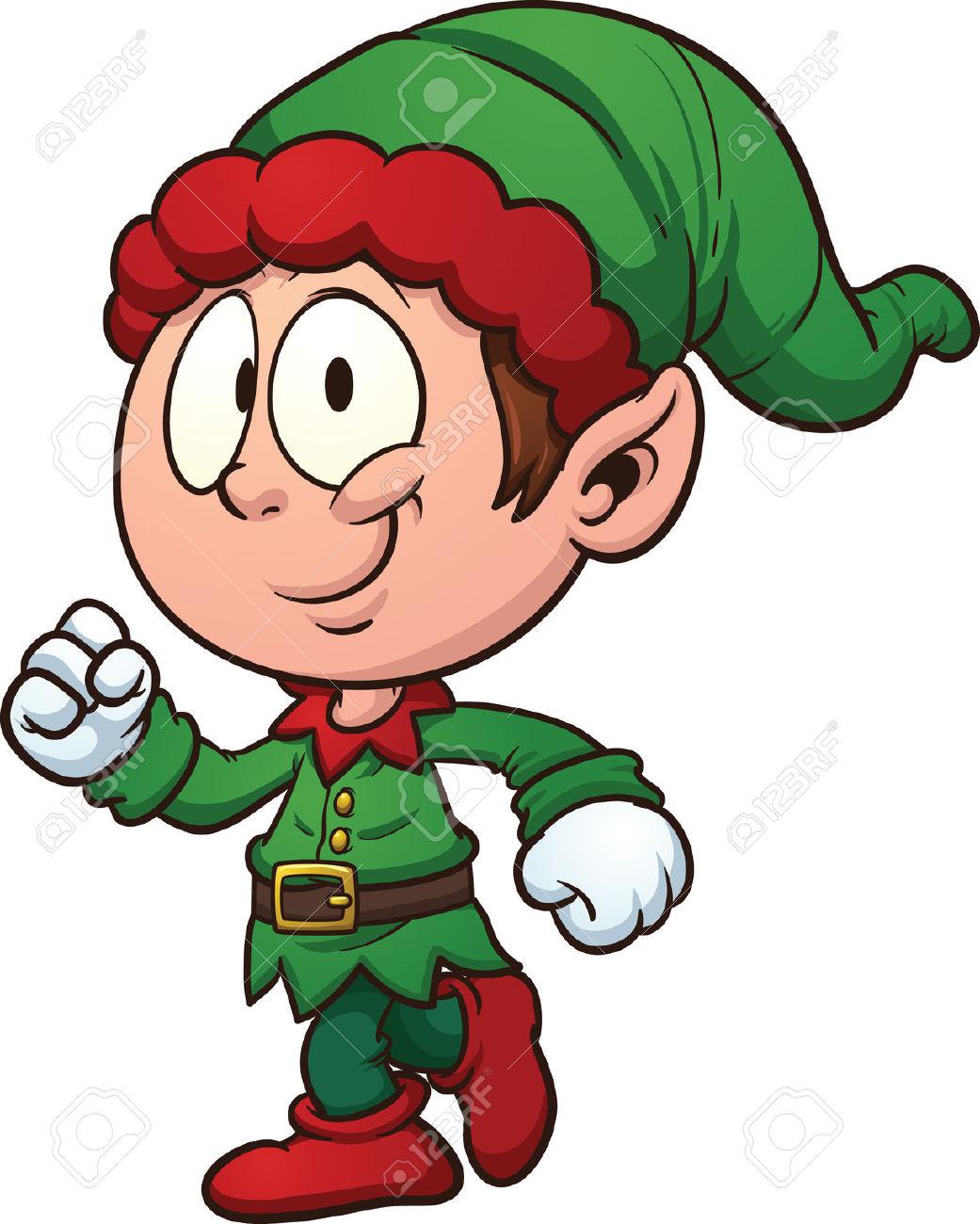 1041x1300 Animated Christmas Elves Clipart