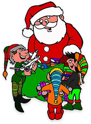 319x435 Elf Clipart Santa His Elf