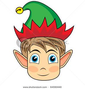 287x300 Elf Face Clip Art Clipart